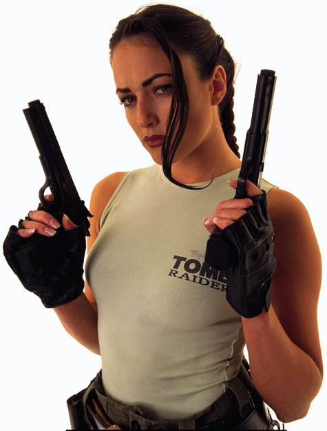 Lara Croft Cosplayer Pics