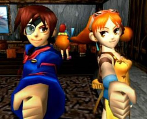 Aika Pictures from Skies of Arcadia.