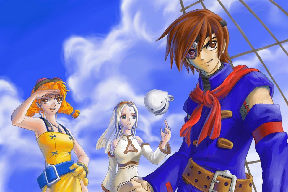 Aika from Skies of Arcadia