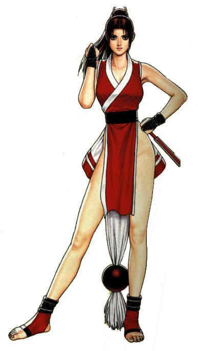 Mai Shiranui From Fatal Fury